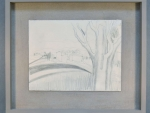 VIS.4119 - Ben Nicholson, Monteliscai, after conservation and reframing