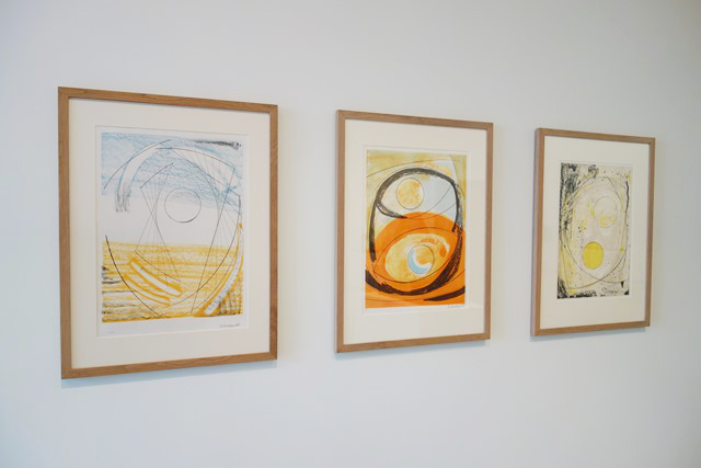 Barbara Hepworth lithographs